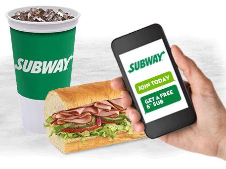 free subway sub
